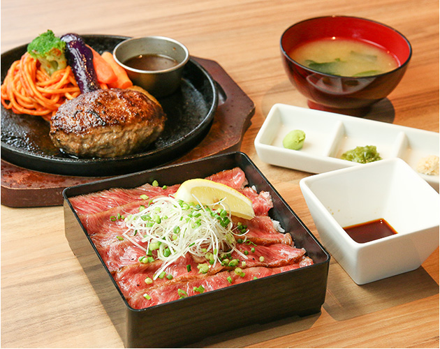STEAK&HAMBURG HIGE 函館五稜郭店