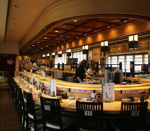 回転寿司 函館まるかつ水産
